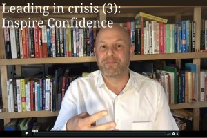 Leading in crisis (3) - Confidence