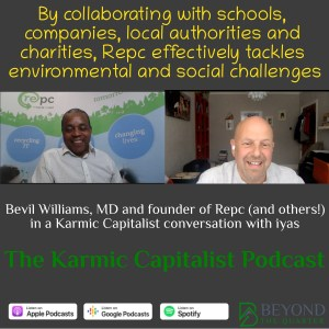 How Repc is closing the digital divide while fighting waste - Bevil Williams