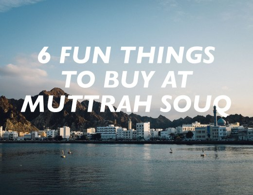 Fun Things to Buy at Muttrah Souq