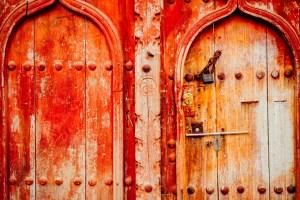 Old Omani Doors