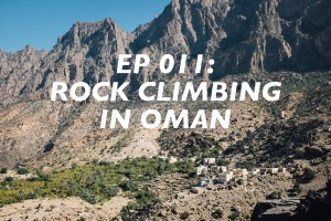 Rock Climbing in Oman, Hadash, Read Macadam