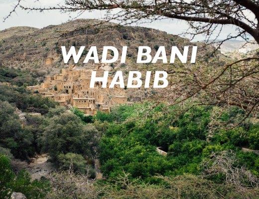 Wadi Bani Habib, Jebal Akhdar, Oman