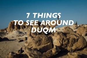 things to see around Duqm