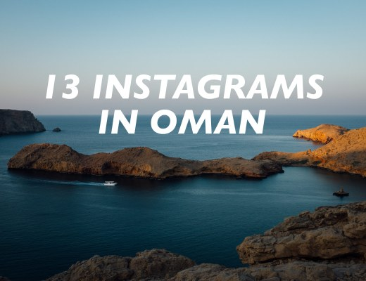 13 Instagrams in Oman to Inspire You