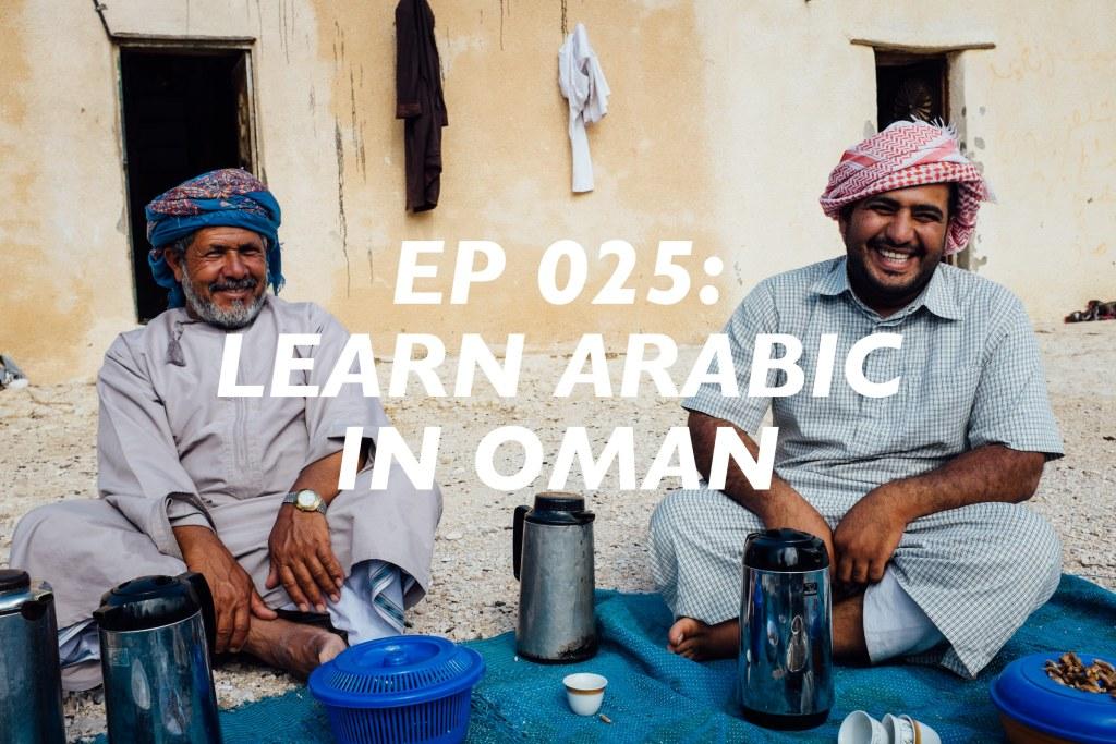 learn arabic in oman