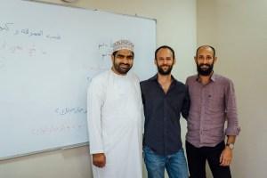 learn arabic in oman, noor majan arabic institute, sultan al farsi, simone bettega