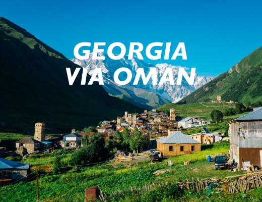 georgia via oman