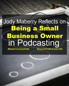 being a small business owner