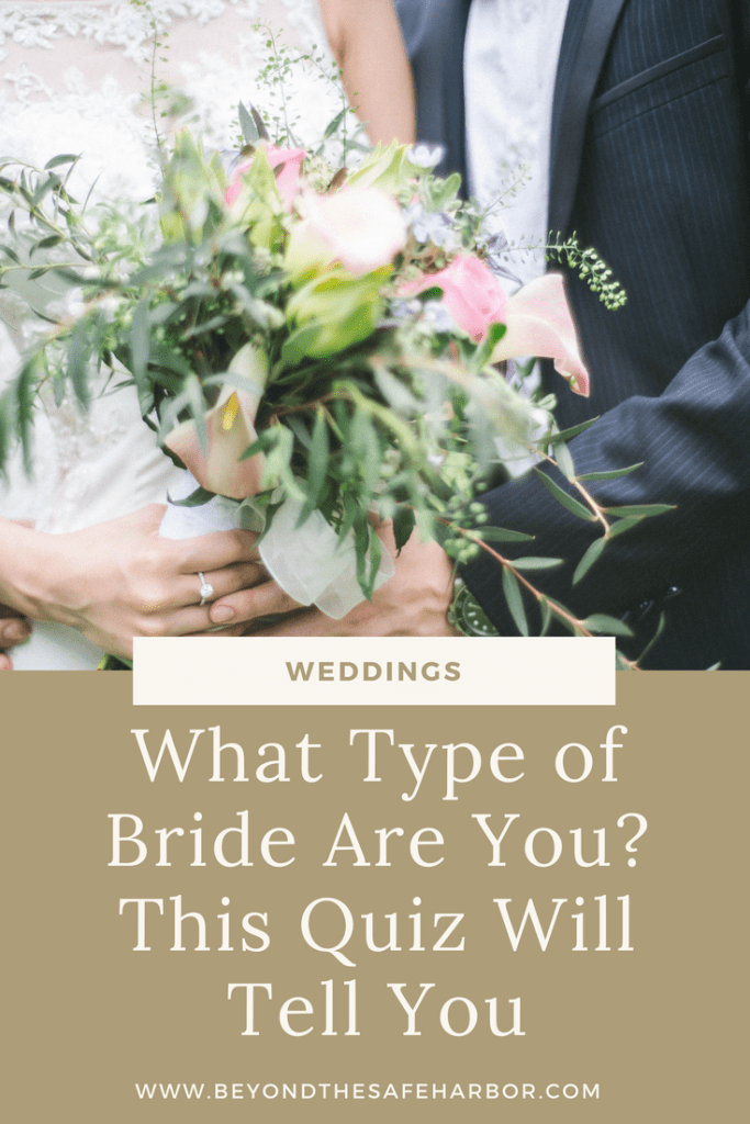 What Type of Bride Are You? This Quiz Will Tell You