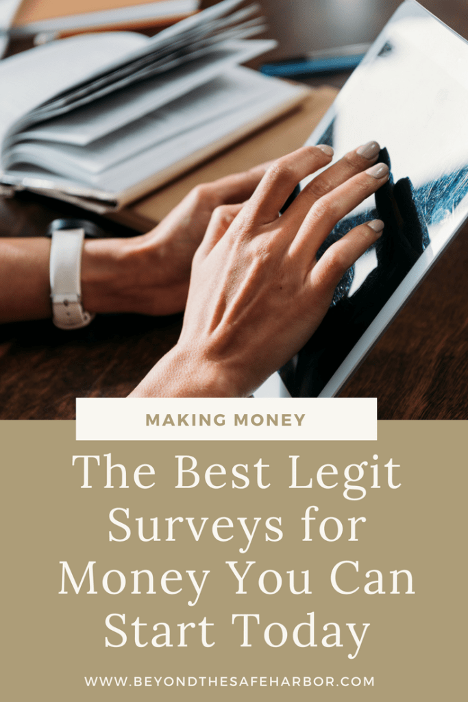 The Best Legit Surveys for Money You Can Start Today