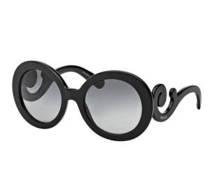 Prada Baroque Sunglasses – Black