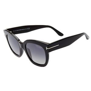 TOM FORD Beatrix 52mm Polarized Sunglasses