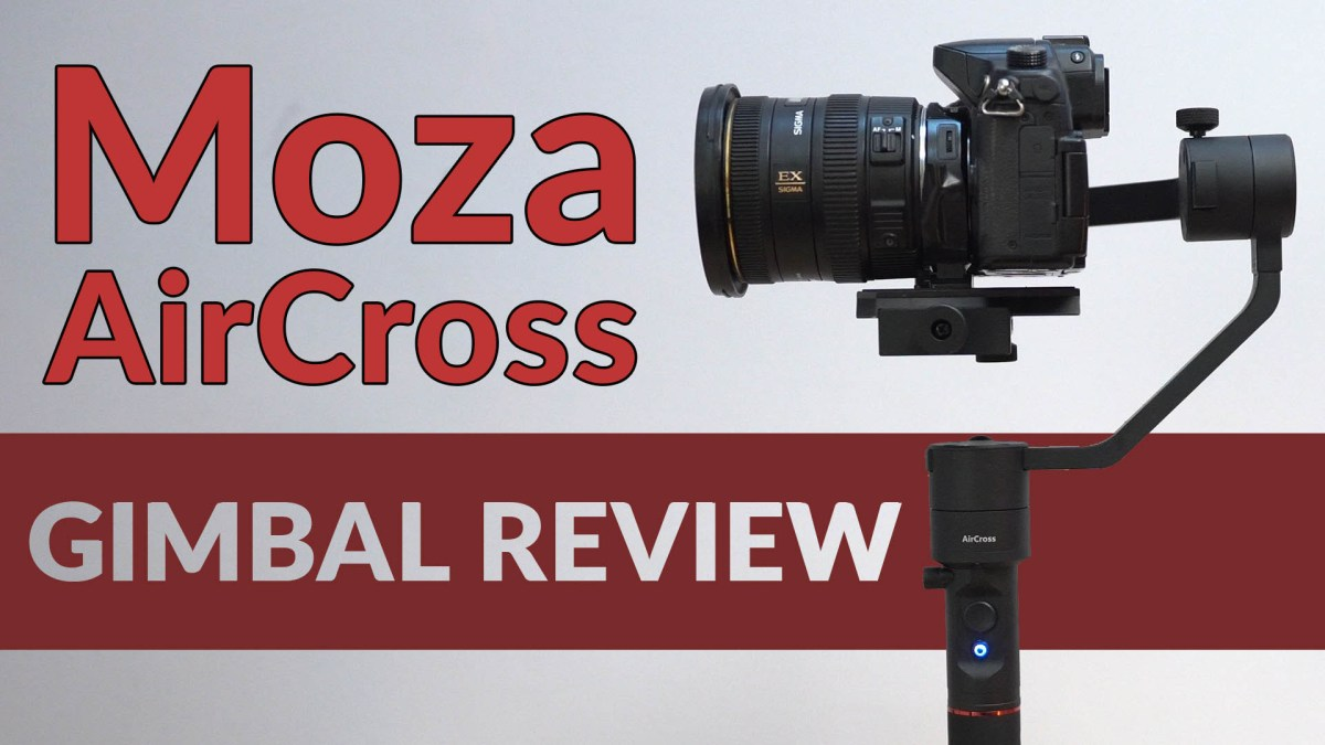 Pan-Tilt Timelapse Head Replacement? Moza AirCross REVIEW