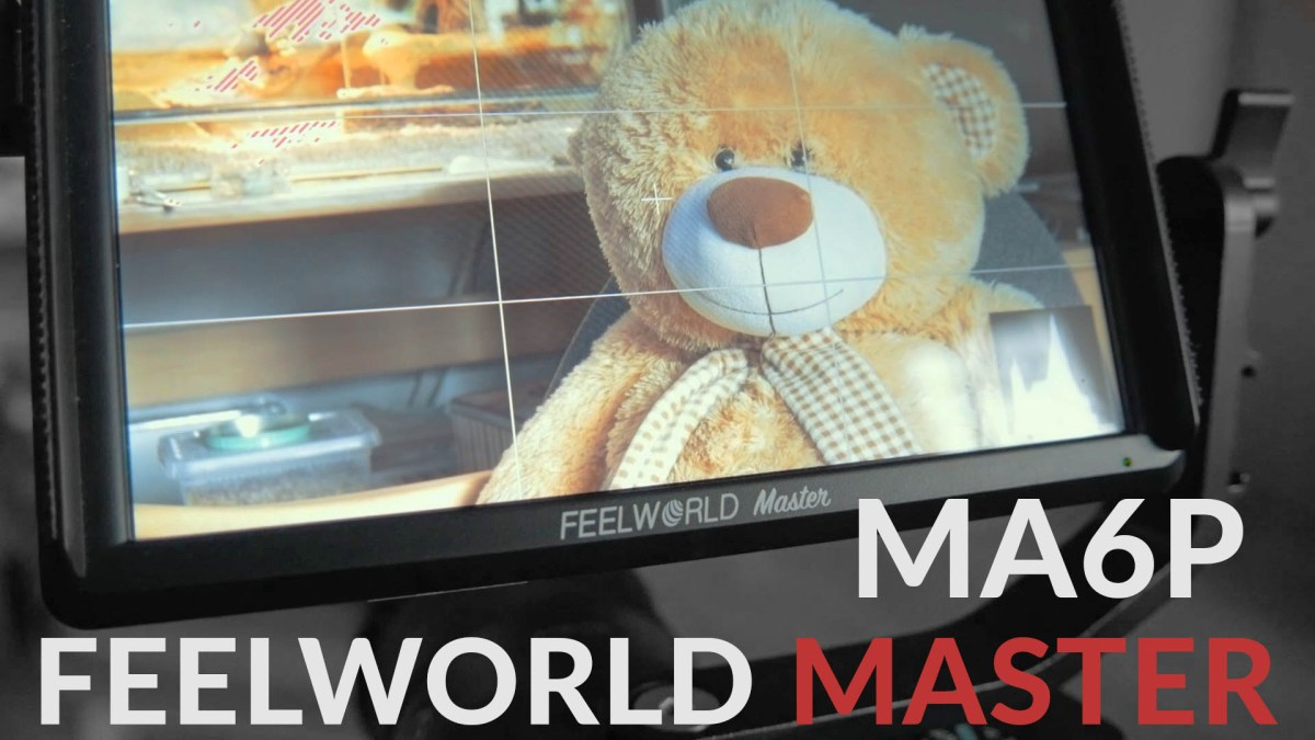 Feelworld Master MA6P - monitor review + MA5 comparison