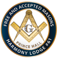 Harmony Lodge #61 emblem 2017