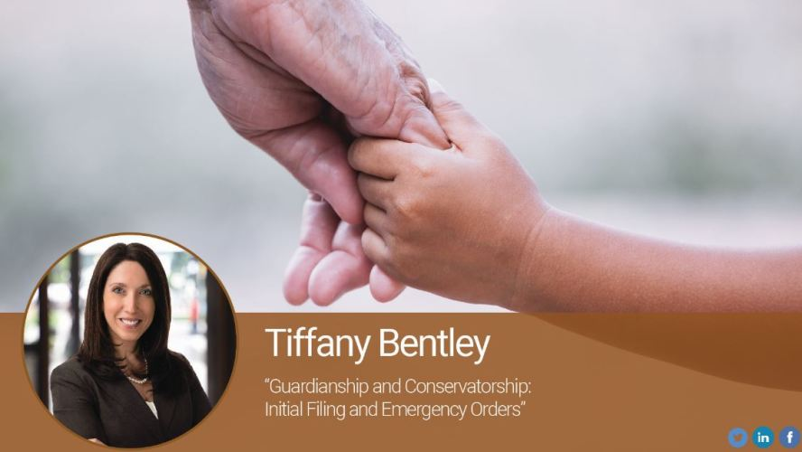 Guardianship and Conservatorship: Initial Filing and Emergency Orders