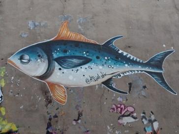 fish street art Atomludik