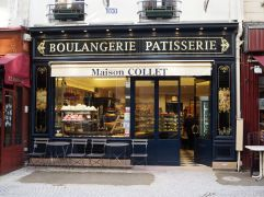 B is for Boulangerie - you're never far from a baker's shop. 907 artisans boulangers are listed in the Yellow Pages for Paris
