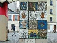 Belleville community art project mosaic