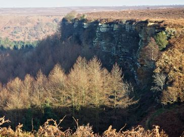 Sun and shadow on the North York Moors
