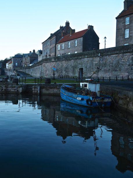 Evening on the quay in Berwick upon Tweed