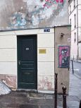 and one that never has been. There's nothing behind the door at 1bis rue Chapon, installed early one Saturday morning in 2006 by Les Spécialistes.