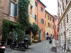 A boost of colour in Trastevere, April
