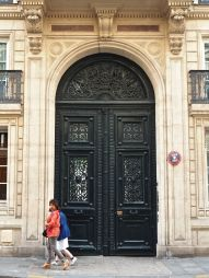 rue de grenelle door paris