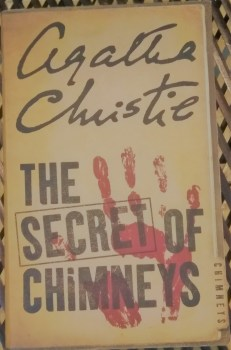 """Must-Read Agatha Christie Books""- Book Cover ""The Secret of Chimneys"""