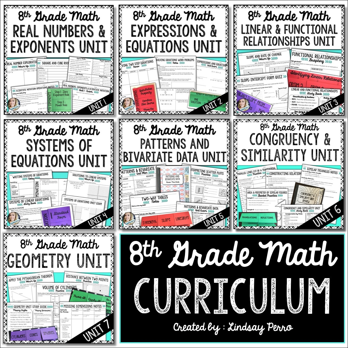 8th Grade Math Curriculum