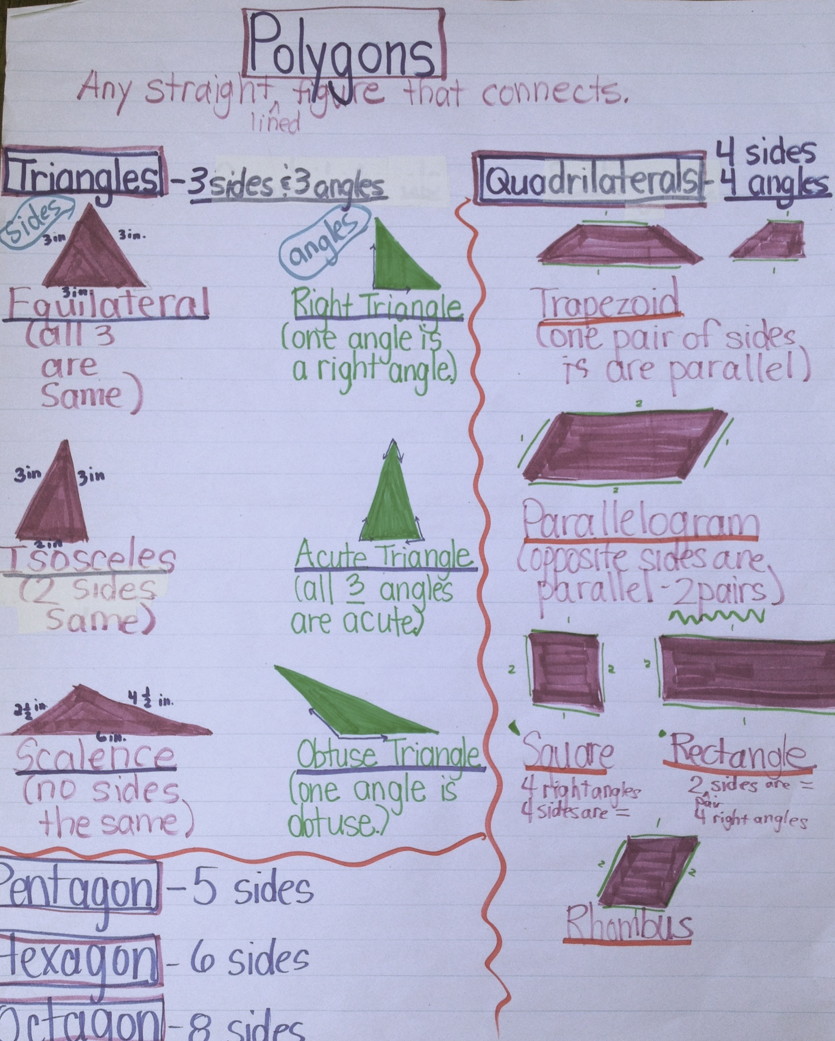 Anchor Charts For Kids