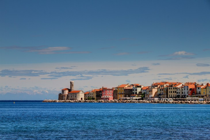 Dot to Dot: Piran Coastline