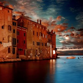 Sunset Old Town Rovinj