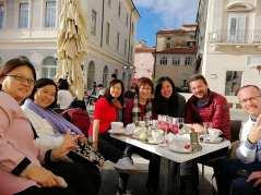 Coffee Break in Piran