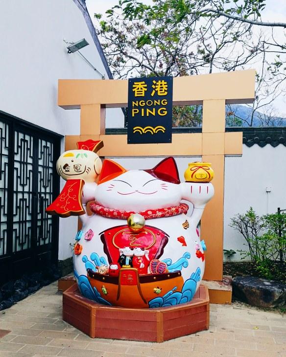Ho g Kong Lucky cat