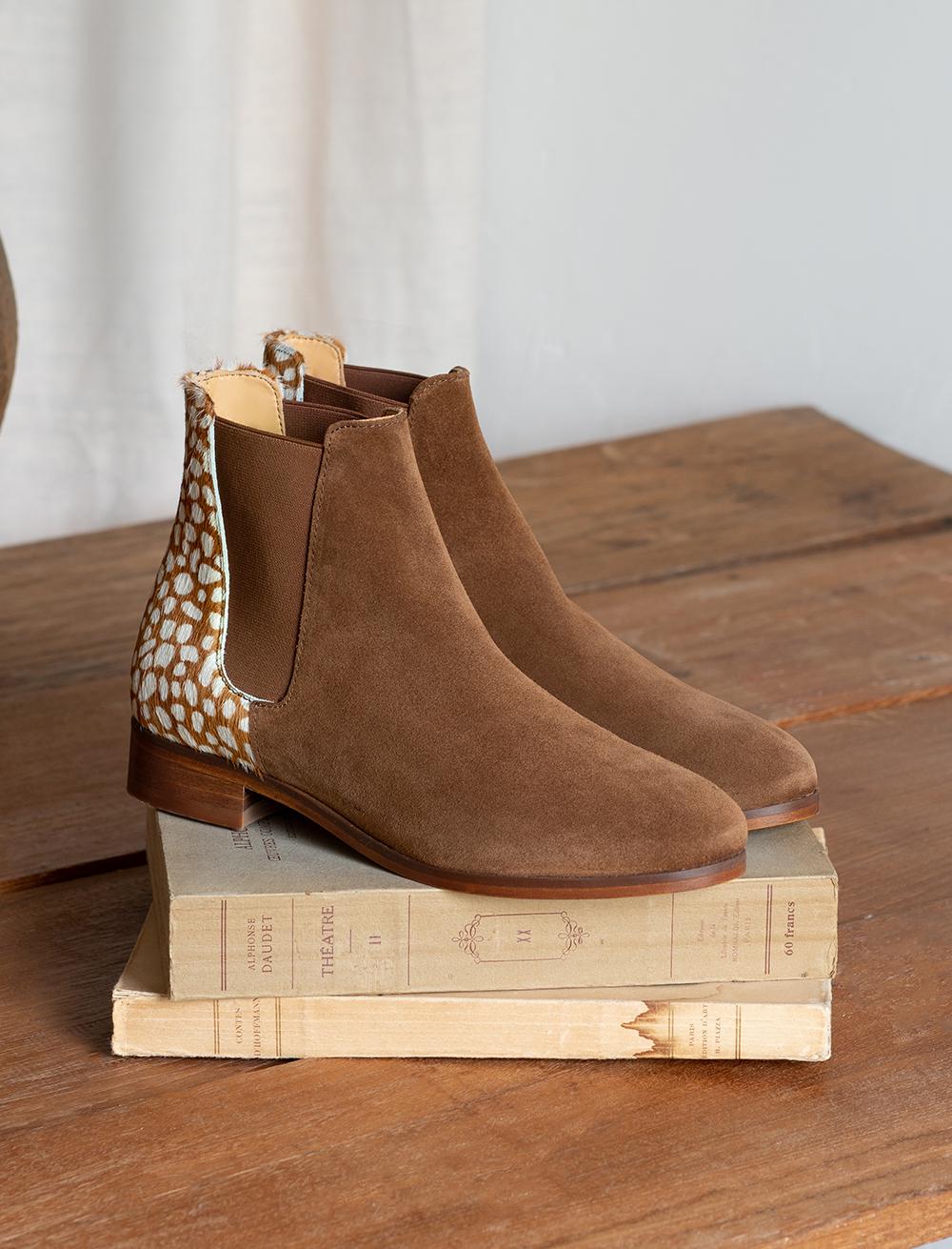 Chelsea boots Anne - Biche - Pied de biche