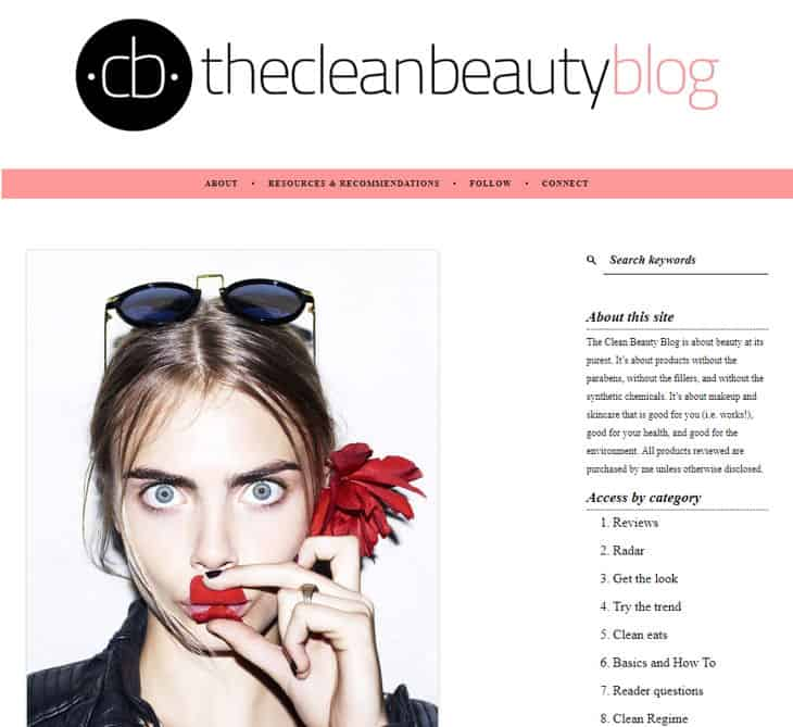 The Clean Beauty Blog
