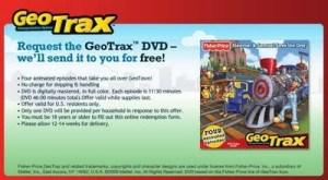 Geo Trax DVD: FREE