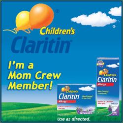 Children's Claritin Mom Crew Member