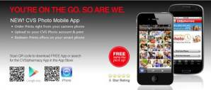 New CVS Mobile App plus Photo Deal