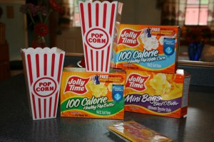 Back to School with Jolly Time Popcorn