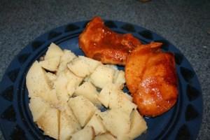 Freezer Crockpot BBQ Chicken Meal