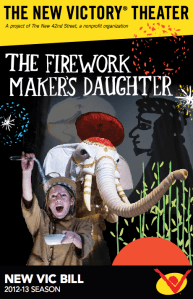 The Firework Maker's Daughter at The New Victory Theater