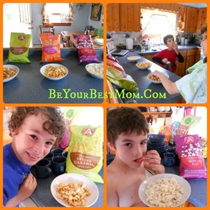 Angie's Kettle Corn Review and Giveaway