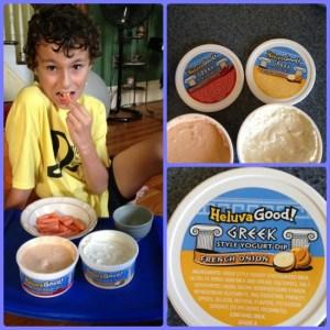Heluva Good Greek Yogurt Dips Rock! #HVGgoesGreek #MC