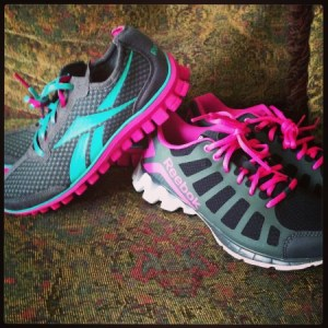 Rockin' My Reebok's From Famous Footwear #ReebokMom
