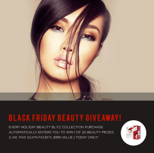 Total Beauty's Holiday Beauty Blitz Collection AND Black Friday Giveaways
