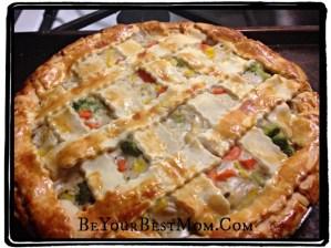 Easy Gluten-Free Veggie Pot Pie Recipe #SweetCreations #GoodCookKitchenExprt