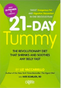 21-Day Tummy by Liz Vaccariello #ReadersDigest #Diet #Giveaway