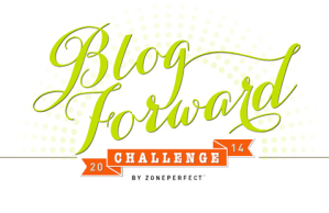 Blog It Forward ZonePerfect Challenge 2014